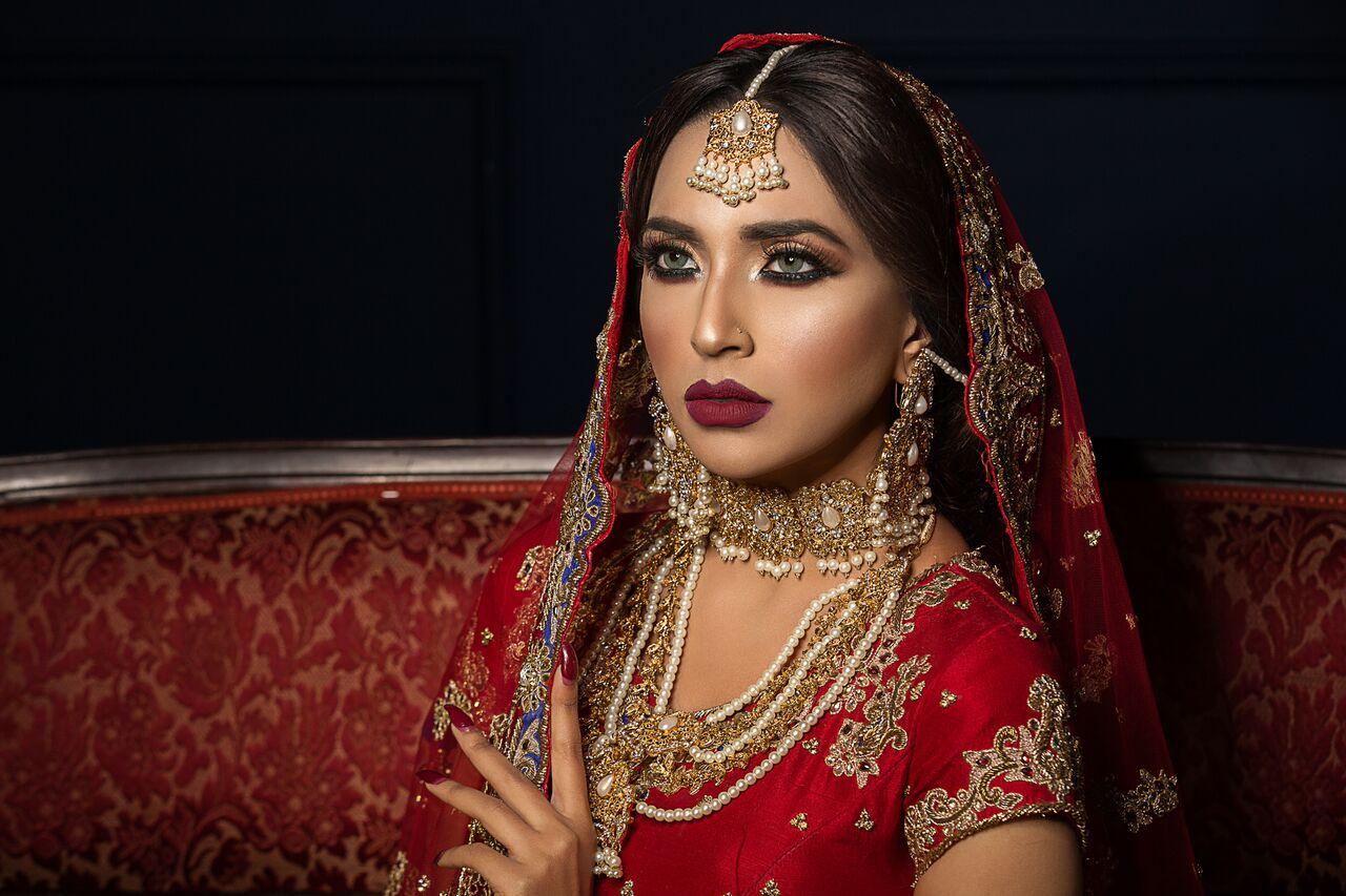 a Indian bride