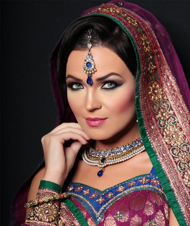 simple Indian bride