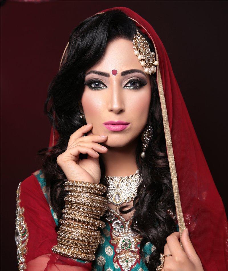 fancy bridal makeup