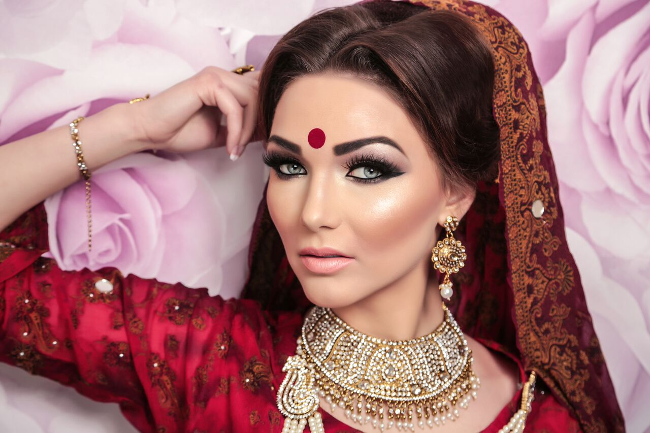 ethnic Indian bride