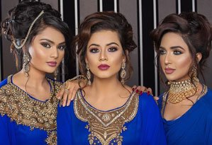 Indian makeup and hairstyles