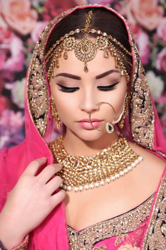 pretty Indian bride