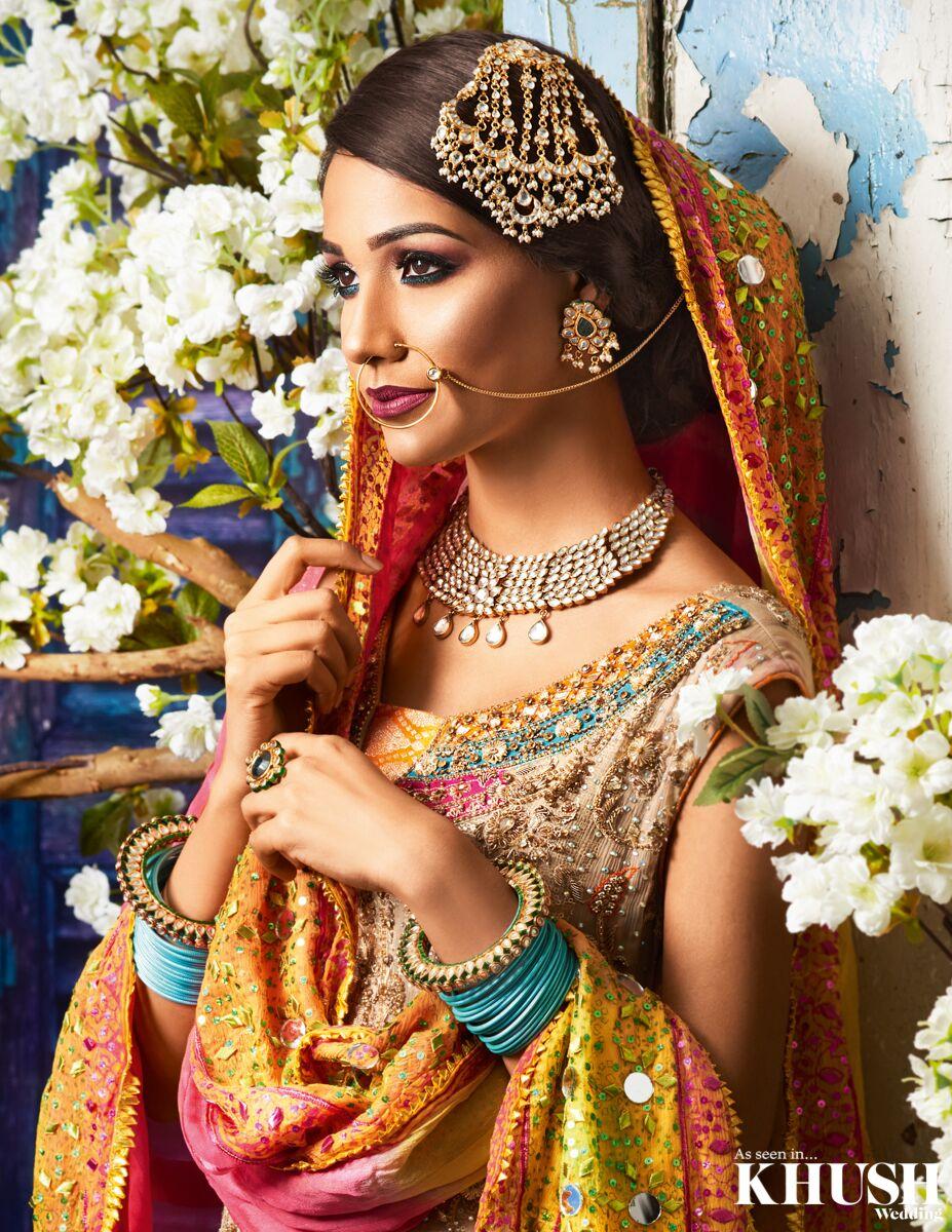 Nizami style bridal makeup