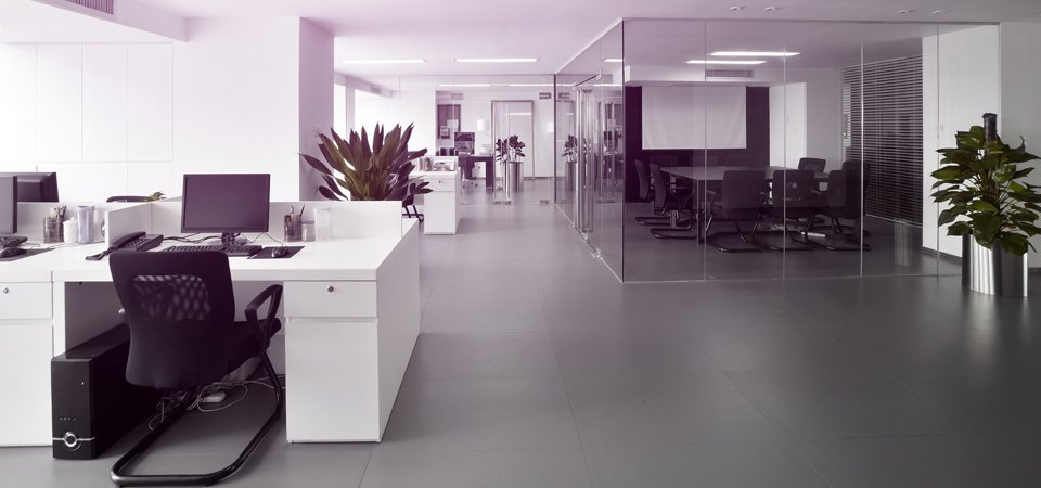 interiors of the office