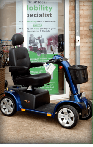 Blue Mobility Scooter in Abingdon