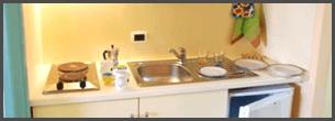 cucina dell'appartamento Basic