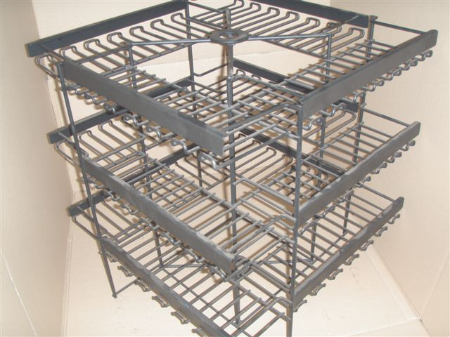 Metal wire product display rack