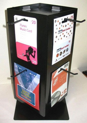 card spinner stand
