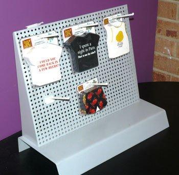merchandising stand metal display