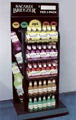 product display stand point of sale display