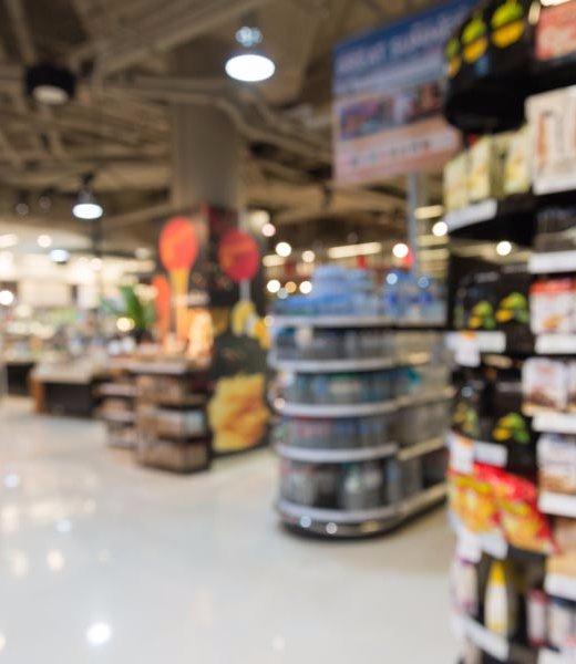 supermarket product shelf