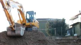 camion da cantiere, ruspe, escavatori