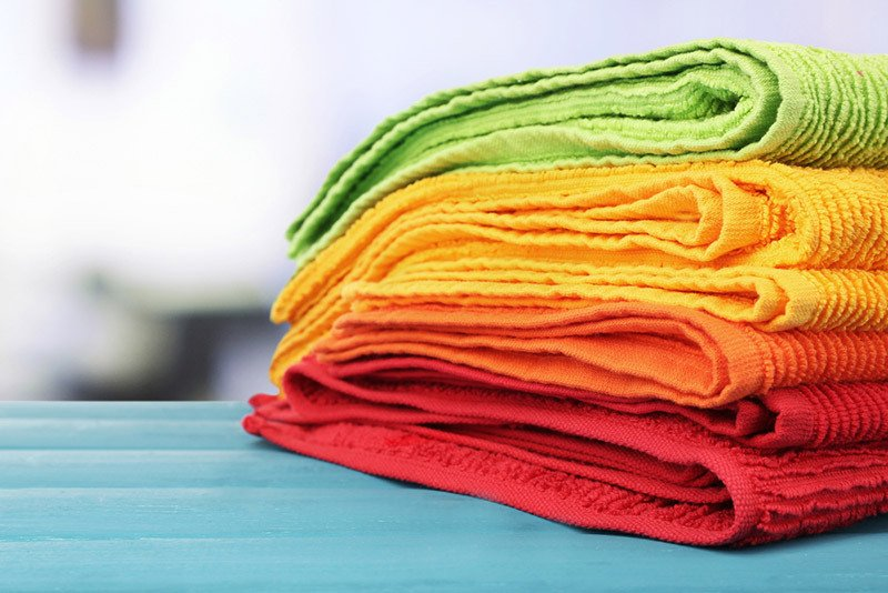 Fresh, clean towels