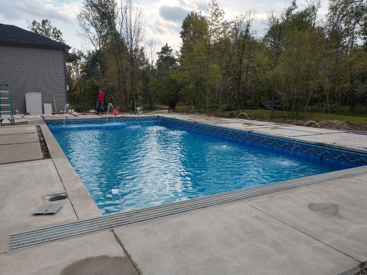 Pool Deck Builder Columbus Ohio Custom Pool Decks