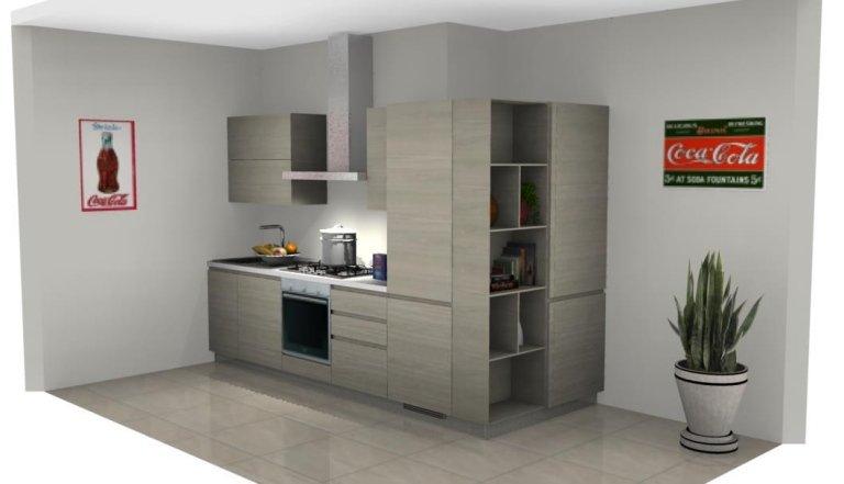 progetto angolo cucina