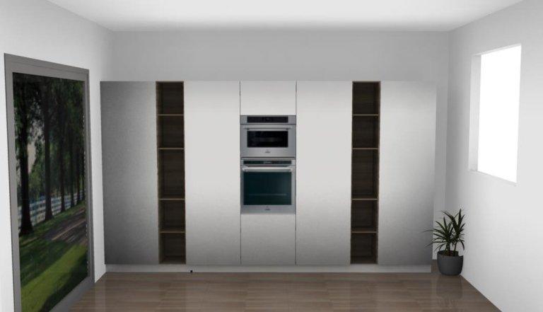 progetto frigo cucina