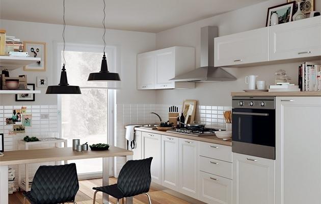 cucina scavolini lampade