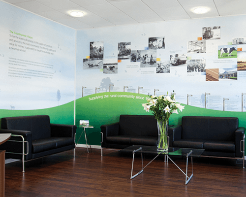 Countrywide waiting area