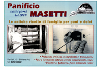 Panificio Masetti bibbiena in provincia di Arezzo