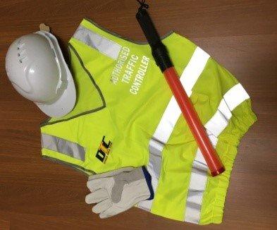 authorised traffic controller uniform