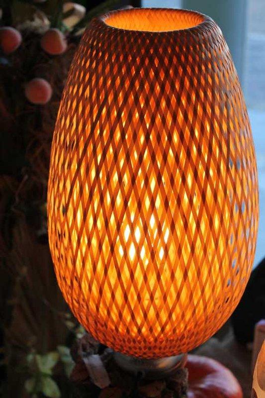lampada arancione