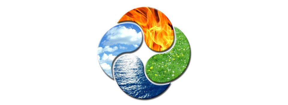 aria fuoco terra acqua