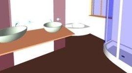 progettazione di bagni