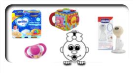 biberon, alimenti per neonati, prodotti per l'infanzia