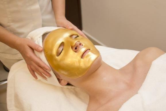 maschera oro antieta