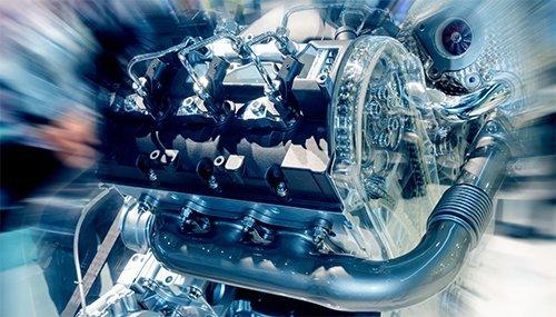 Honda car engine block