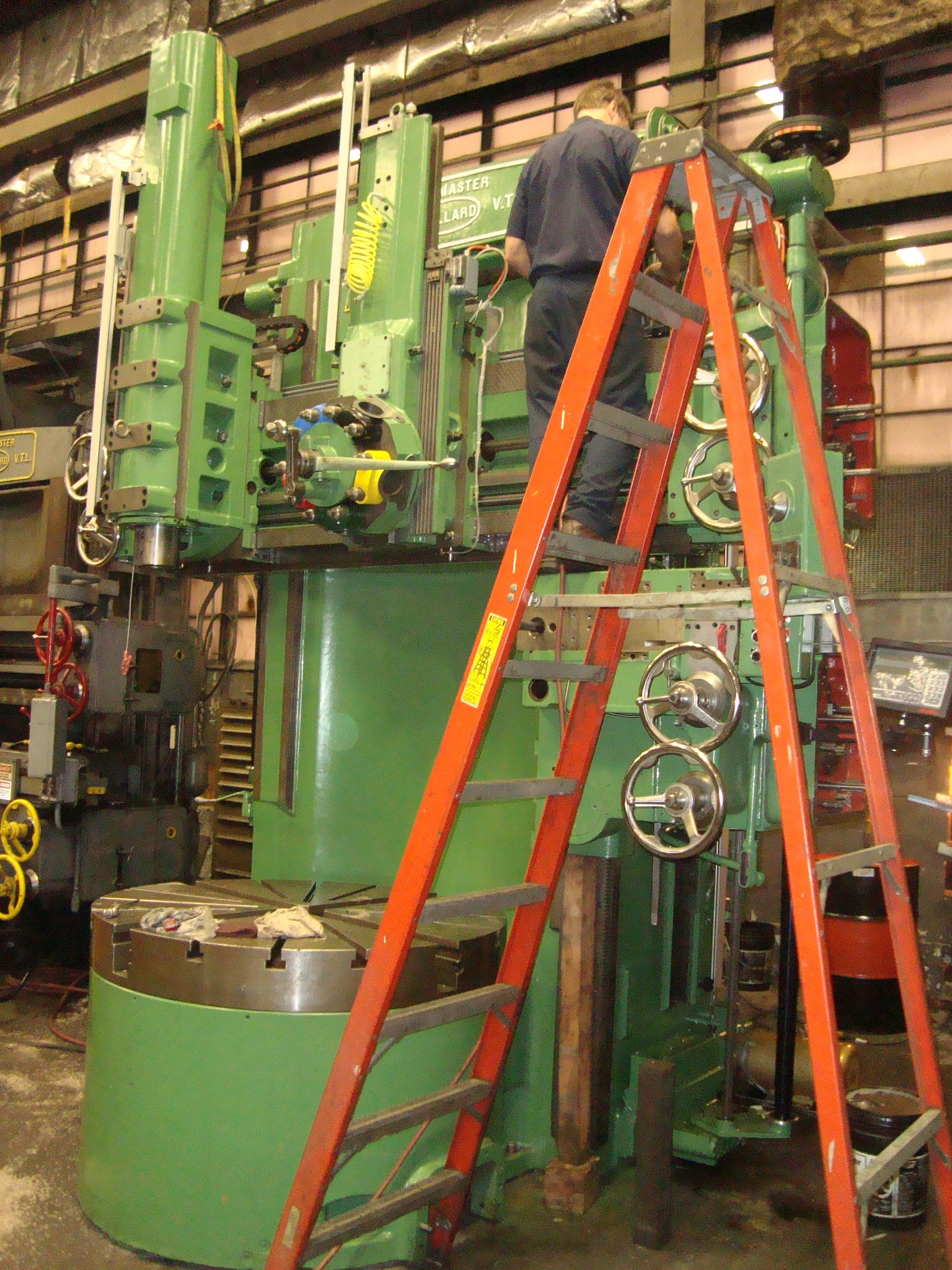 Reconditioned Vertical Turret Lathe Buffalo, NY