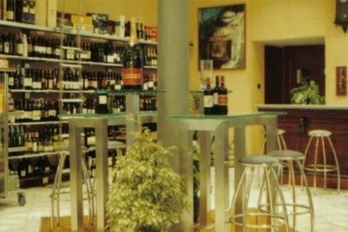 zona allestimento vini