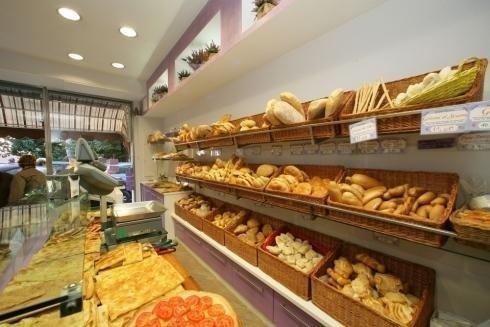 vista laterale varieta prodotti da forno