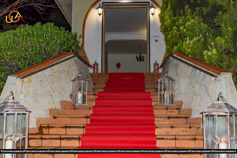 scalinata d'ingresso