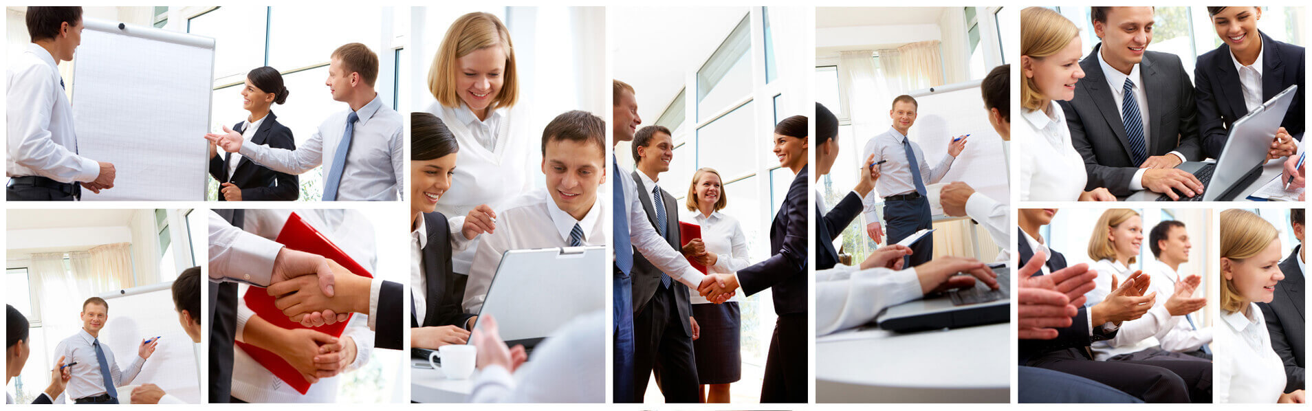 image of many happy employees in an office enviroment