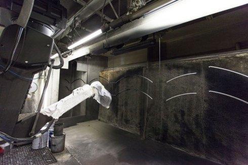 verniciatura robotizzata