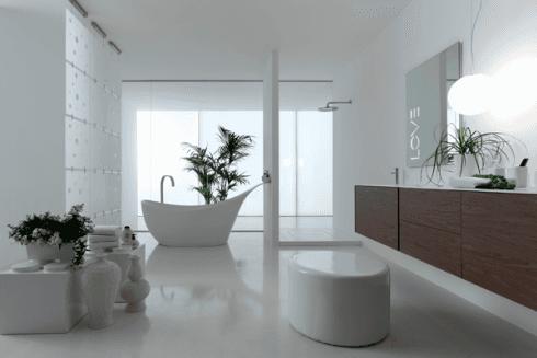 Realizzazione bagni di design