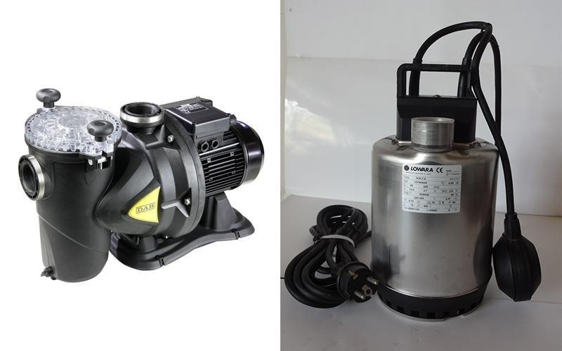 riparazione pompe elettriche como