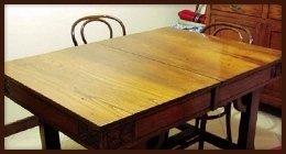 tavoli legno massello