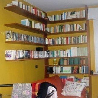 Libreria murale su misura