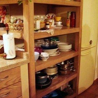 scaffali da cucina
