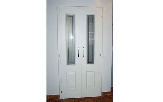 doppia porta verniciata