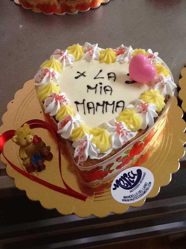 torta per la mamma della pasticcera MERIA