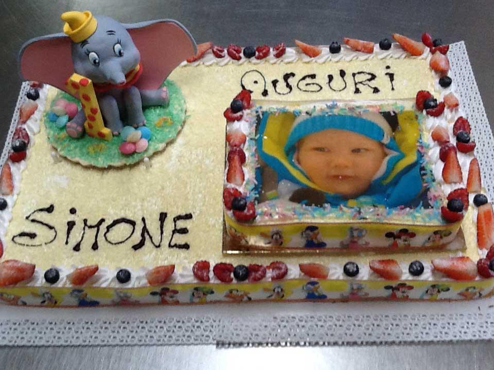 torta di compleanno Simone
