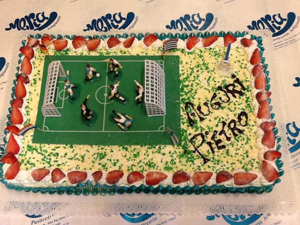 torta di compleanno Pietro