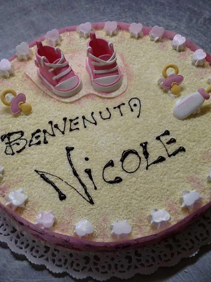 torta battesimo NICOLE