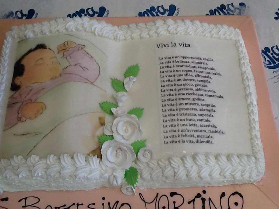 torta battesimo Martina