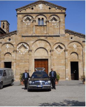Auto funebre, onoranze funebri Cascinesi
