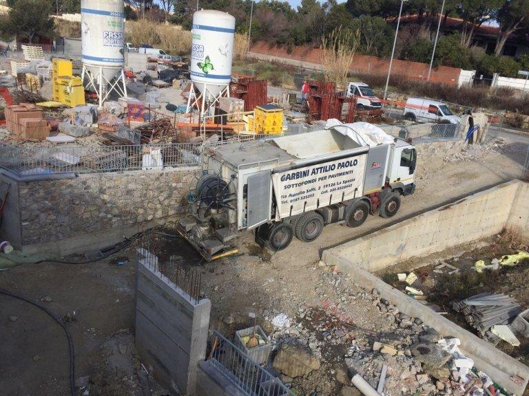 Lavorazione Impresa edile Garbini La Spezia