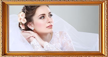 Chic bridal wear collection